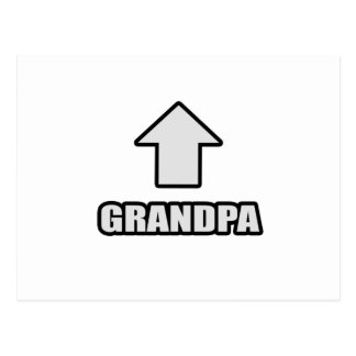 Arrow Grandpa Postcard