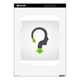 Arrow head decals for iPad 2