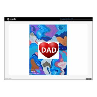 Arrow Love Dad Decals For Laptops