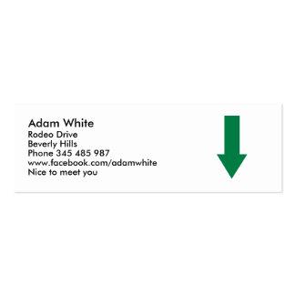 Arrow Mini Business Card