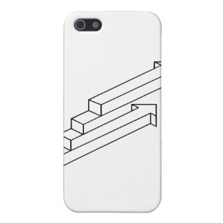 Arrow or Stairs Optical Illusion Cases For iPhone 5