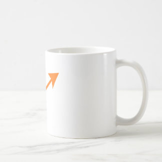 Arrow Orange 35deg The MUSEUM Zazzle Gifts Coffee Mug