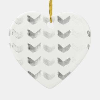 Arrow Pattern Ceramic Ornament
