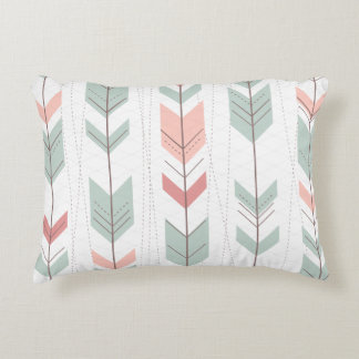 Arrow pattern design accent pillow