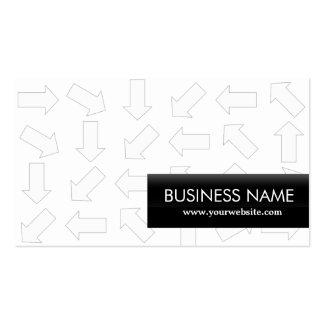 Arrow Pattern Program Director Business Card