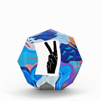 Arrow Peace Acrylic Award