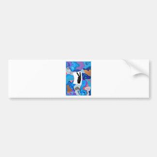 Arrow Peace Bumper Sticker