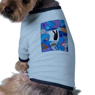 Arrow Peace Dog T Shirt