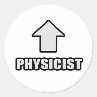 Arrow Physicist Classic Round Sticker