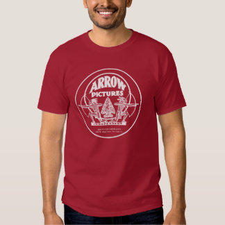 Arrow Pictures Silent Movie Studio Western T-Shirt