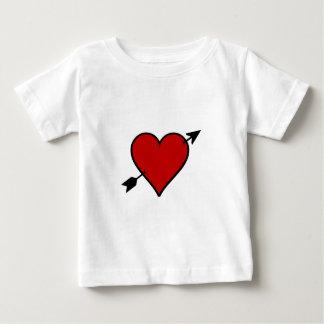 Arrow Pierced Heart Baby T-Shirt