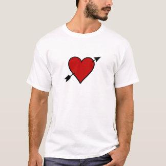 Arrow Pierced Heart T-Shirt