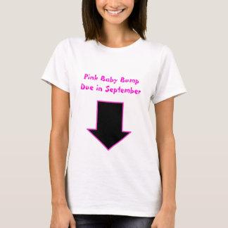 Arrow, Pink Baby Bump Due in September T-Shirt
