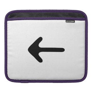 Arrow Pointing Sleeve For iPads