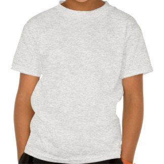 Arrow Pointing Left. Gray and Cream. T-shirts