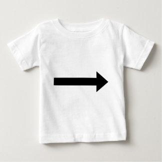 arrow right icon baby T-Shirt
