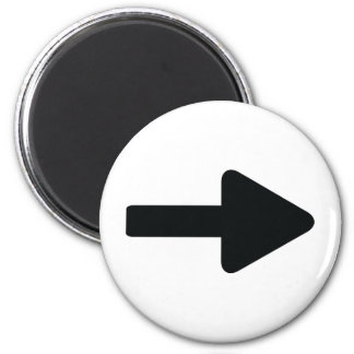 arrow right icon black magnet