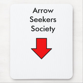 Arrow Seekers Society Mouse Pad