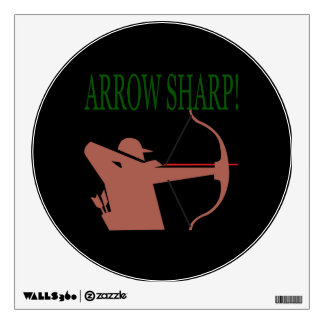 Arrow Sharp Wall Sticker