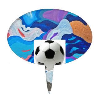 Arrow Soccer Ball Cake Topper