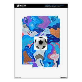 Arrow Soccer Ball iPad 3 Decals