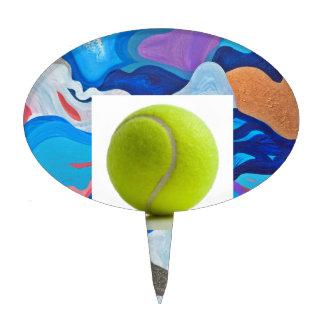 Arrow Tennis Ball Cake Topper