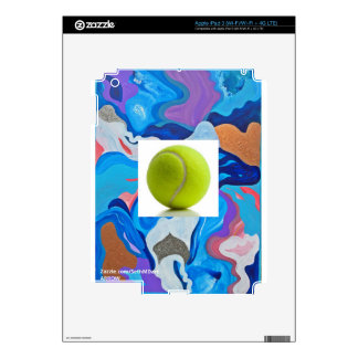 Arrow Tennis Ball Decal For iPad 3