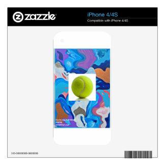 Arrow Tennis Ball iPhone 4 Decal