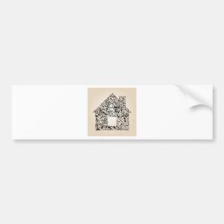 Arrow the house bumper sticker
