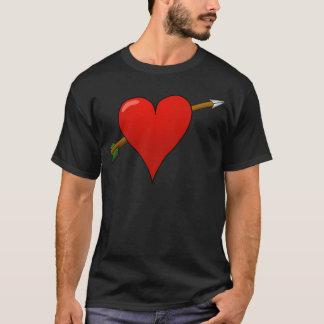 Arrow Through Heart T-Shirt