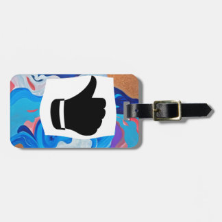 Arrow Thumbs Up Tag For Luggage