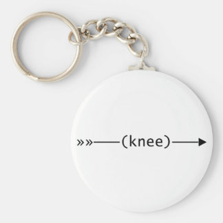 Arrow To Knee Keychain