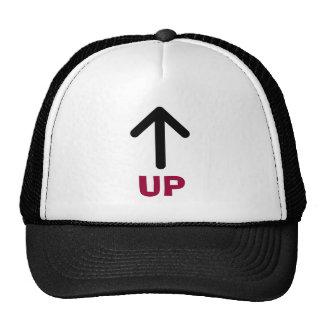 arrow up, UP Trucker Hat