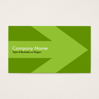 Arrow v3 (Martian Green) - Green 669900 Business Card