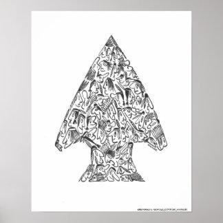 ARROWHEAD by NICHOLAS_COPYRIGHT Posters