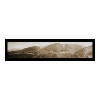 Arrowhead Hot Springs Photo 1907 Poster