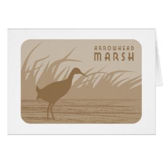 Arrowhead Marsh Clapper Rail Greeting Card