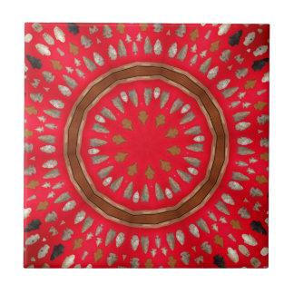 arrowhead pattern tile