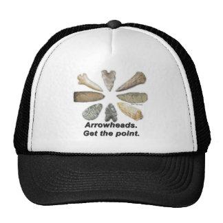 Arrowheads Get the point Trucker Hat
