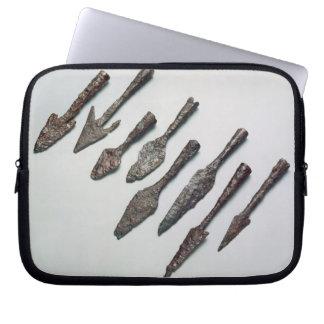 Arrowheads, Iron Age (iron) Laptop Sleeve
