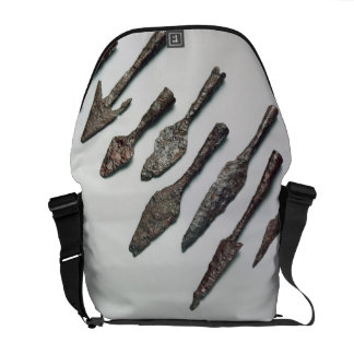 Arrowheads, Iron Age (iron) Messenger Bag