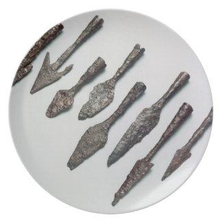 Arrowheads, Iron Age (iron) Plate