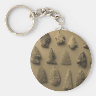 Arrowheads Keychain