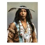 Arrowmaker un indio del vintage del Ojibwa Brave19 Postales