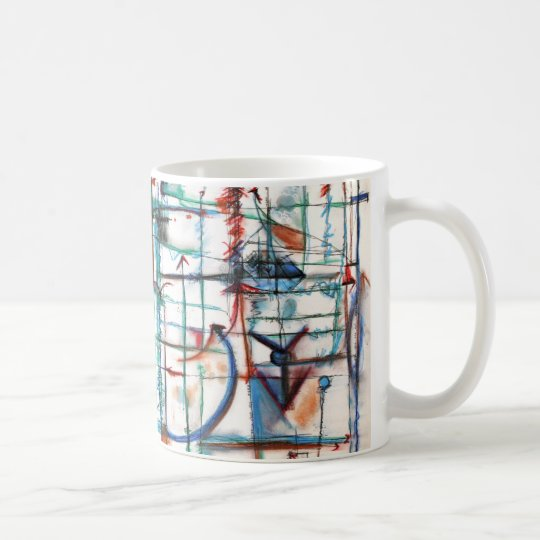 Arrows and Lines Mug