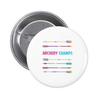 Arrows_Archery_Champs Pin Redondo De 2 Pulgadas