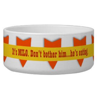 ARROWS Funny Dog Bowl Custom Name V09
