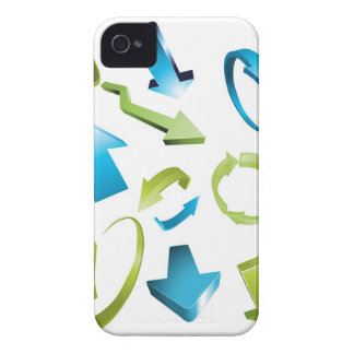 Arrows icons iPhone 4 case