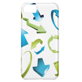 Arrows icons case for iPhone 5C