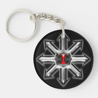 Arrows of Chaos - Black Widow Keychain